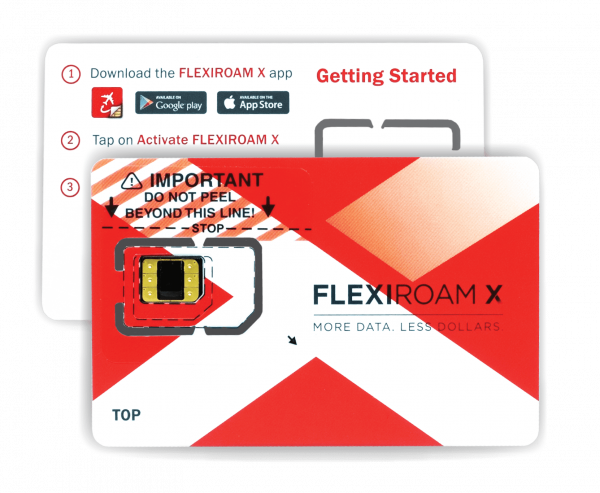 FlexiRoam Data Roaming Microchip