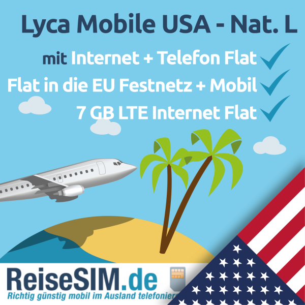 Lyca Mobile USA National L Tarif