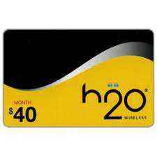 H2O Wireless $40 Month Plan, Unlimited call to European landline , Unlimited Phone and Text msg in USA, 1 GB Internet, USA SIM card for your mobile