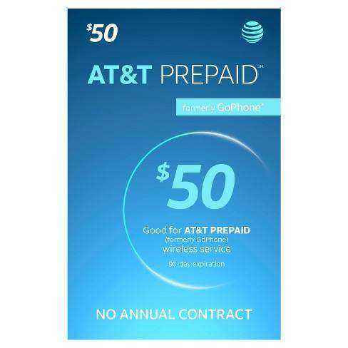 AT&T Prepaid $50 Month Plan