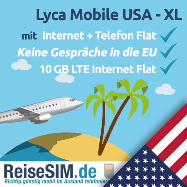 Lyca Mobile USA XL Tarif